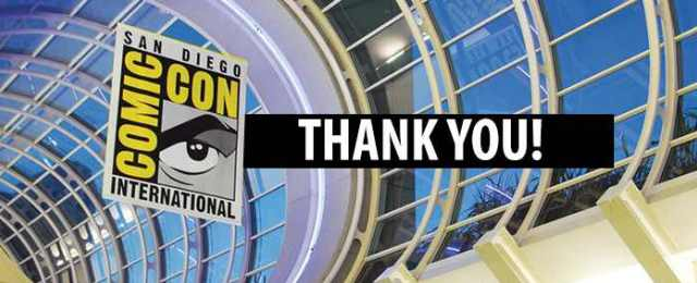 SDCC 2014 Thank You banner - Click to learn more at the official web site!
