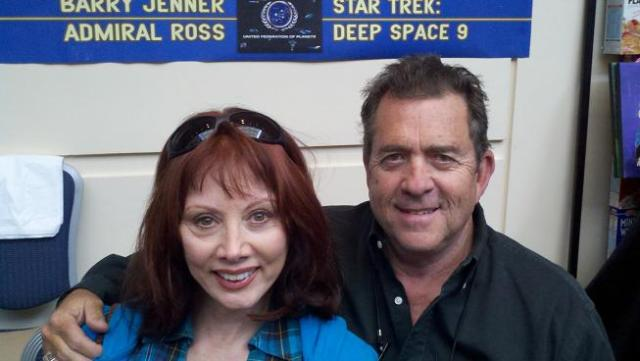 Creation Star Trek San Francisco - Barry Jenner and his lovely wife!
