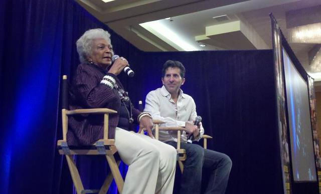 Creation Star Trek San Francisco - Nichelle Nichols and Adam Malin