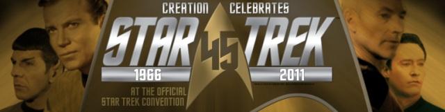 "Star Trek 45th Anniversary: Creation Entertainment Beams to San Francisco Featuring Leonard Nimoy, Nichelle Nichols and ""Rush Hour"" Jane Wiedlin!"