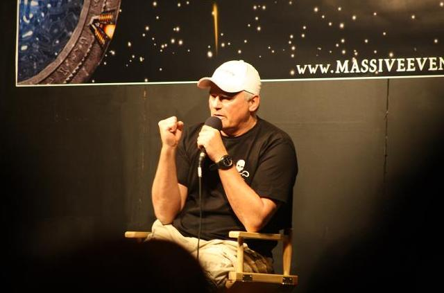 "Chevron 7.6 Day Three: ""Things Come Out Of My Mouth That I Can't Control"" – Richard Dean Anderson and MacGyver 2011"