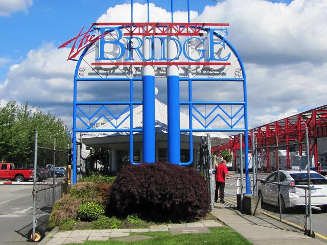The Bridge Studios Entrance Sign