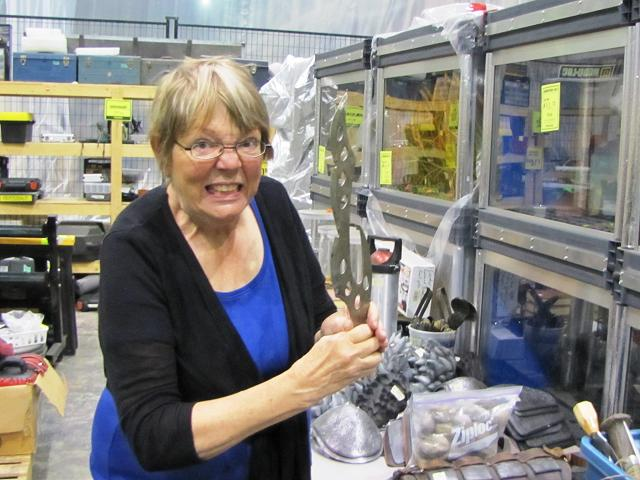 Stargate Liquidation - Patty with prop weapon
