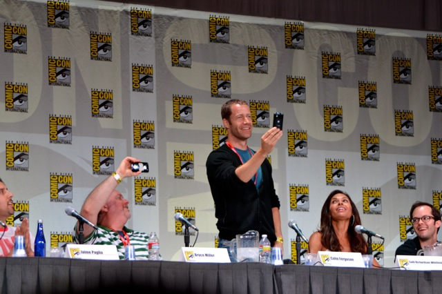 Syfy's Eureka Panel at San Diego Comic-Con 2011