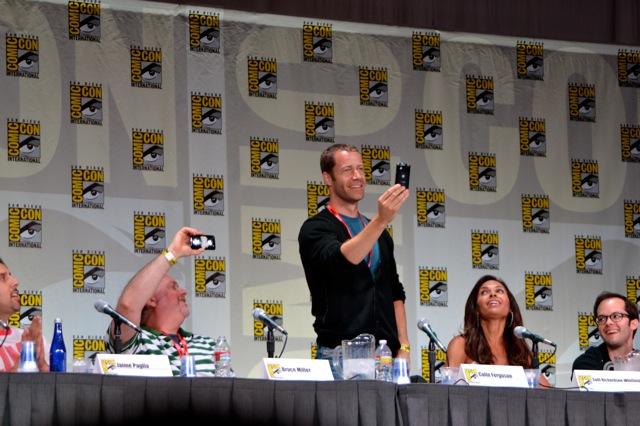 Syfy's Eureka Panel at San Diego Comic-Con 2011