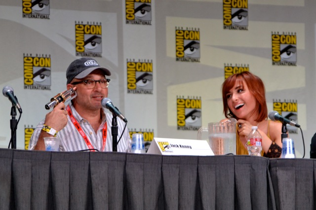 Warehouse 13 SDCC- Jack Kenny & Telsa Gun