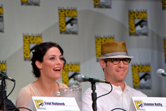 Warehouse 13 SDCC- Joanne & Eddie