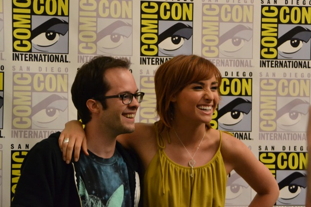 Warehouse 13 SDCC- Neil & Allison