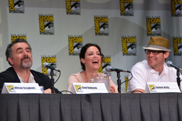 Warehouse 13 SDCC- Saul, Eddie, & Joanne