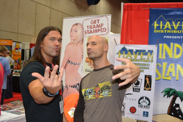 Impact Wrestlers Frankie Kazarian and Chris Daniels Invaded San Diego Comic-Con!