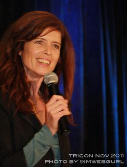 Torri Higginson - Stargate Los Angeles 2011