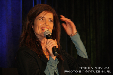 Stargate Made Memorable With Torri Higginson at Creation Entertainment TriCon!