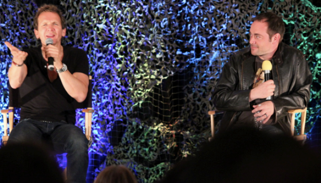 Supernatural Burbank 2012 - Sebastian Roche and Mark Sheppard!