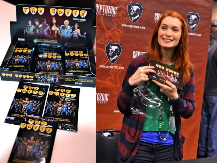 A Happy Felicia Day with The Guild trading cards!