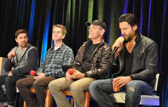 Stargate Vancouver 2012 - Kavan Smith, Chuck Campbell, Robert Picardo and Steve Bacic