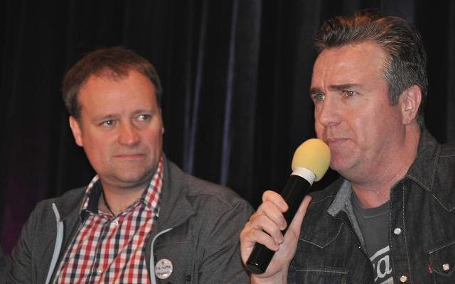 Stargate Vancouver 2012 - David Hewlett and Paul McGillion