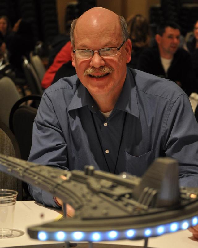 Stargate Vancouver 2012 - Paul Harvath - Centerpiece winner for SGU Destiny