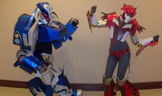 BotCon 2012 - Transformers costumes!