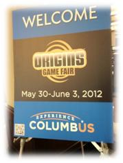 Origns Game Fair 2012 - Entrance Banner poster