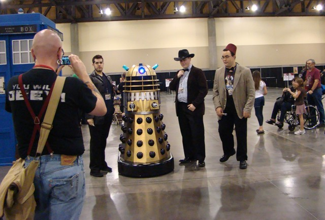 Phoenix Comicon 2012 - Doctor Who Dalek!