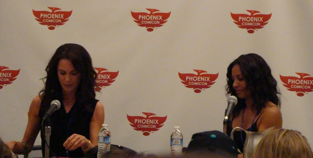 Phoenix Comicon 2012 - Debrah farentino and Salli Richardson-Whitfield