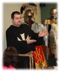 Reading Renaissance Festival -New Empire Troupe shared knowledge!