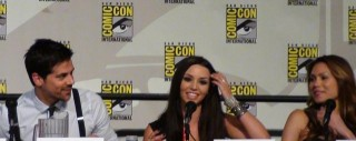 SDCC  2012 - Femme Fatales Panel - Adam Huss, Scheana Marie and Jennifer Roa