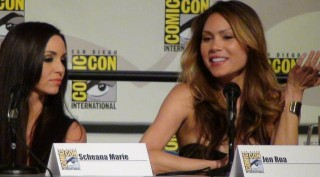 SDCC  2012 - Femme Fatales Panel - Scheana Marie and Jennifer Roa
