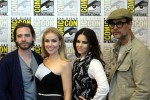 12 Monkeys Aaron Stanford, Amanda Schull and Emily Hampshire Interviews!