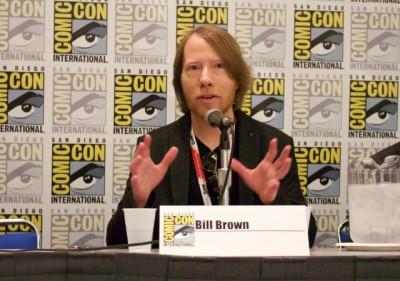 SDCC 2015 Bill Brown at Comic-Con - image courtesy CW3PR