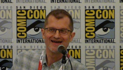 SDCC 2015 Reinhold Heil at Syfy Thrills and Chills panel