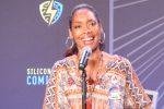 Terrific Gina Torres! Titan of Talent at Silicon Valley Comic Con 2017!