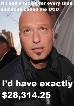 Howie Mandel on the street - How to tell if you have OCD!