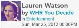 0994 You Decide Live Radio Show with Lauren Watson