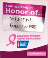American Cancer Society banner - Click to visit and learn more at the official web site!