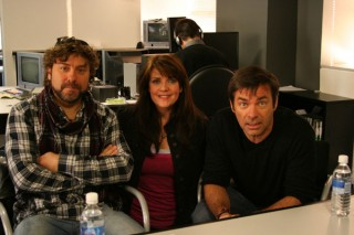 Damian Kindler, Amanda Tapping and Martin Wood of Sanctuary!