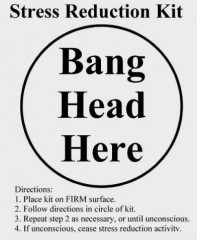 Click to learn more about how to Bang Head Here!