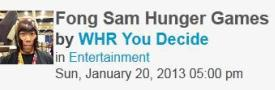 0960 You Decide Radio Show &#8211; Fong Sam Hunger Games Auction