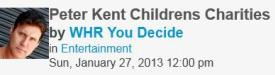 0959 You Decide Radio Show – Peter Kent on Children's Charities