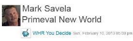 0955 &#8211; You Decide Radio Mark Savela on Primeval New World