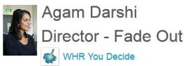 0945 – Agam Darshi Director of Fade Out