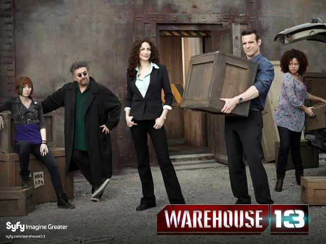 Warehouse 13 Cast banner - Click to learn more at Syfy!