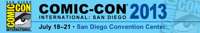 Comic-Con San Diego 2013 banner - Click to learn more at the official SDCC web site!