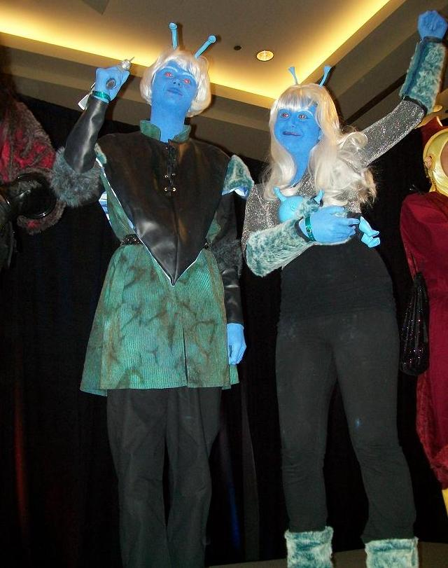 Creation Star Trek San Francisco - Andorians 3rd place contest winners!