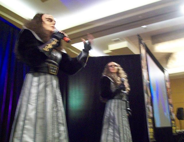 Creation Star Trek San Francisco - Lursa and B'Etor