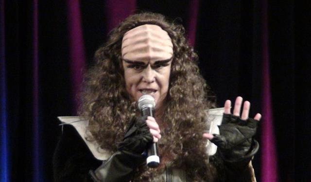 Creation Star Trek San Francisco - The Klingon family!