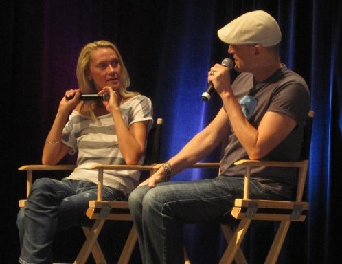 ChiCon 2010 - Andee Frizzell and Christopher Heyerdahl