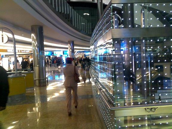 Dubai Airport: Vegas on Steroids....