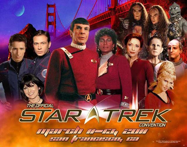 Creation Entertainment Star Trek San Francisco 2011!
