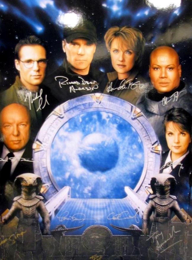 Emerald City ComicCon 2011 - Autographed Stargate image